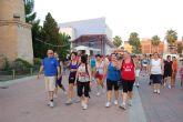 Más de 200 vecinos se dan cita en la V Ruta Senderista de las fiestas 2012 del Barrio del Carmen de Alguazas