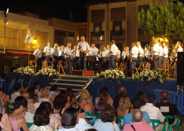 La banda de música de la Academia General del Aire ofreció un concierto en honor a la Virgen del Carmen - 1, Foto 1