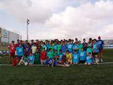 Setenta alumnos participan en el VI Campus gratuito de fútbol
