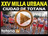 Presentación XXV Milla Urbana 'Ciudad de Totana'