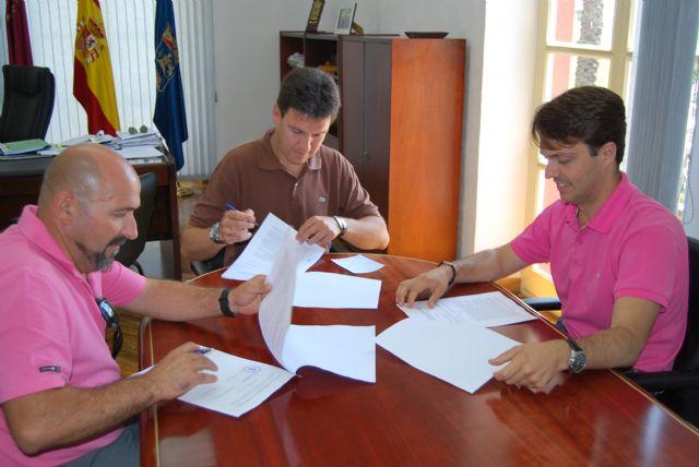 El Ayuntamiento firma un convenio para que sea la Entidad Urbanística del Parque Industrial quien gestione la Ciudad del Transporte, Foto 1