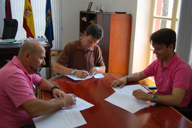 El Ayuntamiento firma un convenio para que sea la Entidad Urbanística del Parque Industrial quien gestione la Ciudad del Transporte, Foto 2