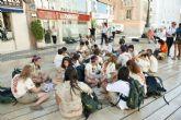 Los jóvenes de la Ruta Quetzal desembarcan en Cartagena