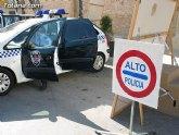 La Policía Local de Totana realiza un total de 42 pruebas aleatorias en la campaña especial sobre control de la tasa de alcohol y consumo de drogas al volante que promovió la DGT