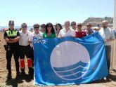 El Alamillo, El Puerto, La Reya y Nares ya tienen sus banderas azules