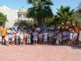 140 niñ@s reciben sus diplomas del primer curso de nataci�n