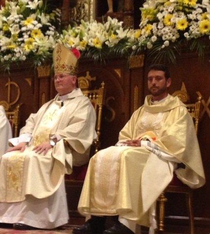 El Obispo de Cartagena preside la ordenación sacerdotal de Juan María Moreno en Cieza - 1, Foto 1