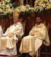El Obispo de Cartagena preside la ordenación sacerdotal de Juan María Moreno en Cieza