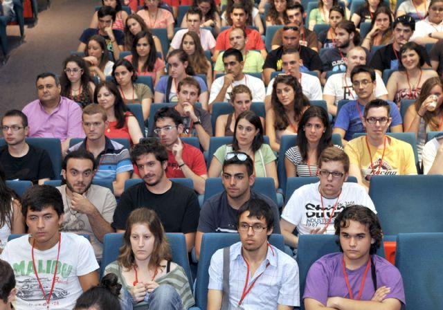 Más de 200 estudiantes se reúnen en la Universidad de Murcia dentro del Encuentro Nacional de Matemáticas - 4, Foto 4