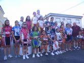 El XXI Memorial 'Enrique Rosa' de Ciclismo reúne a más de un centenar de jóvenes ciclistas de toda la Región por las calles del barrio el Parral