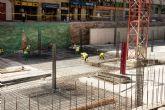 A finales de agosto empezarán a hormigonar tramos del forjado del parking de la Avenida de América