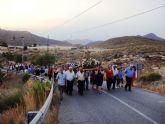 Santiago Ap�stol procesiona por los parajes de Pastrana en su gran d�a
