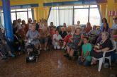Autoridades municipales asisten a las actividades de la Fiesta del 'Día del Abuelo' que organiza la residencia de ancianos 'La Purísima'