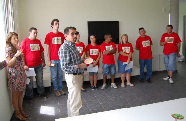Diez jóvenes con discapacidad intelectual terminan un curso en el albergue turístico de Las Torres de Cotillas - 1, Foto 1