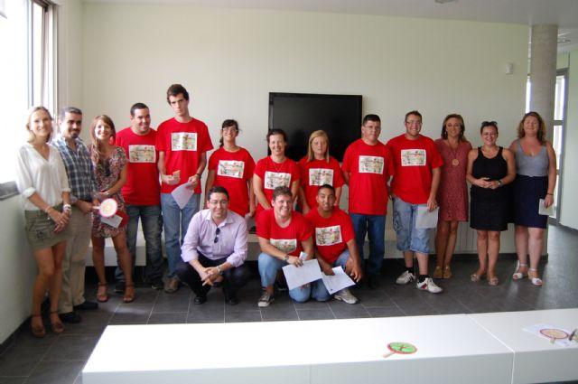 Diez jóvenes con discapacidad intelectual terminan un curso en el albergue turístico de Las Torres de Cotillas - 2, Foto 2