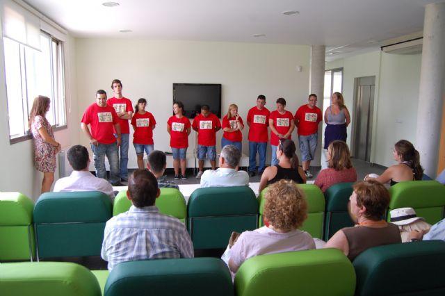 Diez jóvenes con discapacidad intelectual terminan un curso en el albergue turístico de Las Torres de Cotillas - 3, Foto 3