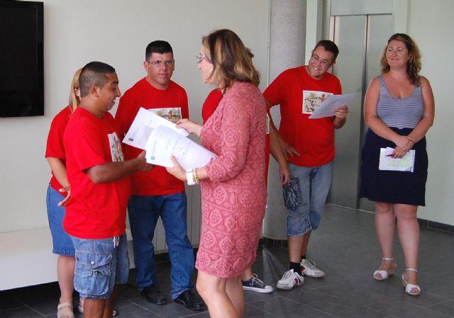 Diez jóvenes con discapacidad intelectual terminan un curso en el albergue turístico de Las Torres de Cotillas - 4, Foto 4
