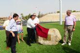 Inaugurada la nueva rotonda de acceso a las urbanizaciones molinenses de La Alcayna y Altorreal desde el municipio de Murcia