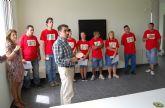 Diez jóvenes con discapacidad intelectual terminan un curso en el albergue turístico de Las Torres de Cotillas