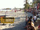 La playa más deportiva
