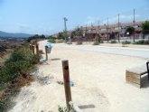 El Grupo Socialista denuncia el abandono absoluto del entorno recreativo de la rambla de El Palmar inaugurado hace menos de un año