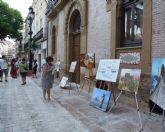 Entregados los premios del VII Concurso de Pintura Rápida 'Águilas en tu pincel'