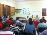 Productores de flor cortada de Cehegín, Lorca y Puerto Lumbreras transmiten al PSOE la necesidad de movilización conjunta