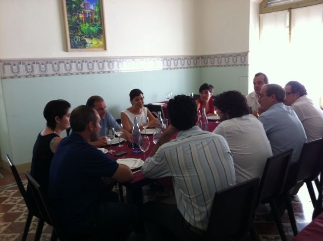 PP totaneros Councillors meet with national representatives and the Regional Assembly