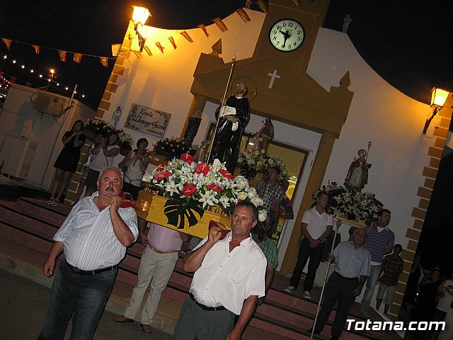 The patron saint of El Alto Raiguero in honor of Santo Domingo de Guzman held until next Sunday