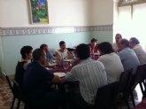 Los concejales del PP totaneros se re�nen con diputados nacionales y de la Asamblea Regional