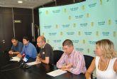 El Ayuntamiento de San Javier se implica en un estudio de viabilidad  de los arribazones de posidonia  oceánica en nutrición animal