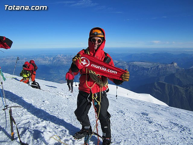 Top of Mont Blanc for Totana.com