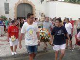 La imagen de San Cayetano sale a la calle para iniciar las fiestas de Los Rincones