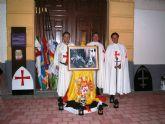 Banderas de treinta municipios de la Regi�n forman la Guardia Templaria de honor a la Patrona de Jumilla