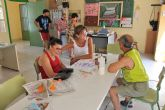 La Alcaldesa de Archena ha informado a los usuarios del Centro Ocupacional sobre la próxima apertura de las nuevas instalaciones