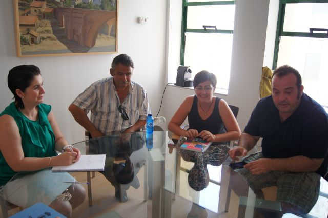 The council of Aledo Totana and create a common front to solve water shortage problems in wells Espuña