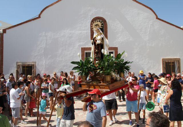 La pedanía de Góñar celebra sus fiestas patronales en honor a la Virgen del Carmen - 1, Foto 1