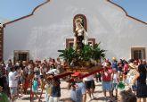 La pedanía de Góñar celebra sus fiestas patronales en honor a la Virgen del Carmen