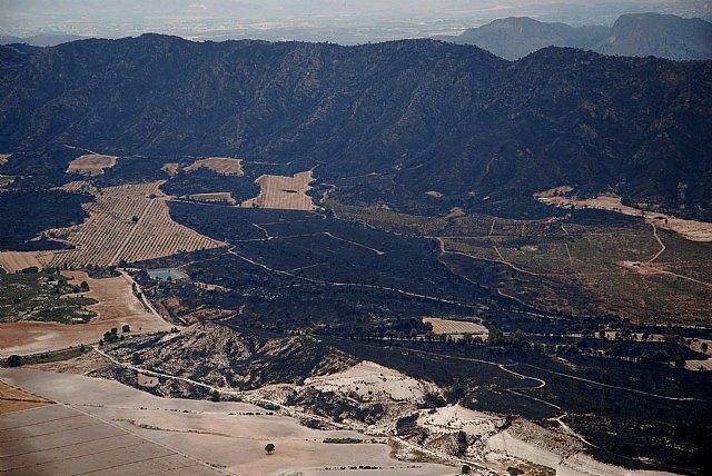 La Comunidad solicita obtener las ayudas necesarias para devolver de manera inmediata su valor ecológico a la Sierra de Moratalla - 1, Foto 1