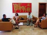 Manuel Campos se reúne con miembros del grupo Independientes Unidos por el Municipio de Abanilla