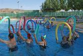 Nueva campaña de verano con actividades acuáticas saludables para las personas mayores