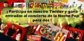 Juventud convoca un concurso en Twitter para asistir gratis al concierto de Lagarto Amarillo y Funambulista
