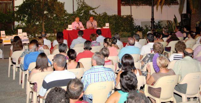 Chencho Arias presenta su último libro en Puerto Lumbreras - 1, Foto 1