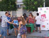 IU-Verdes de Cieza recoge firmas en un 'Llamamiento para una Rebelión Democrática'