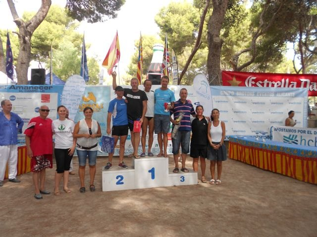 Two totaneros participated in Travesia Muchavista Beach (San Juan, Alicante), Foto 2