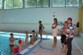 Importante cifra de matriculaciones para los cursos de natación de la Piscina Municipal Cubierta