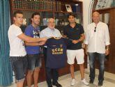 Los nuevos fichajes del Universidad Católica de Murcia C.F visitan la UCAM
