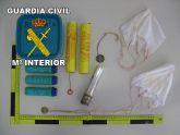 La Guardia Civil detiene a una persona por la comisión de un Delito contra la seguridad colectiva