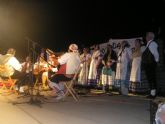 El Grupo de Coros y Danzas Ermita Nueva Peña el Cuartillo, de Sangonera, participó en el I Festival de Folklore 'La Cebolla'