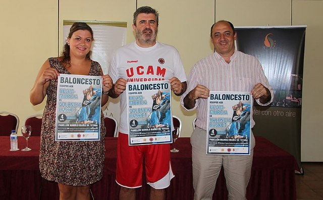 The first preseason game of the UCAM Murcia will take place on September 4